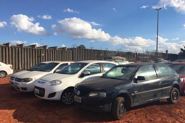 Detran promove leilão de veículos em Sobradinho, na próxima semana