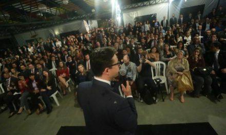 ELEIÇÕES OAB/DF  –  Délio reúne 750 advogados em encontro  com o criminalista Kakay