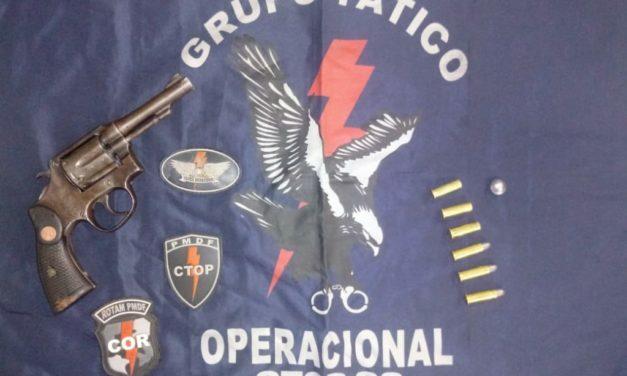 GTOP-33 PRENDE DUPLA POR DISPARO DE ARMA DE FOGO EM SOBRADINHO II.