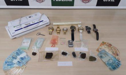 PCDF prende traficante que fornecia drogas gourmet