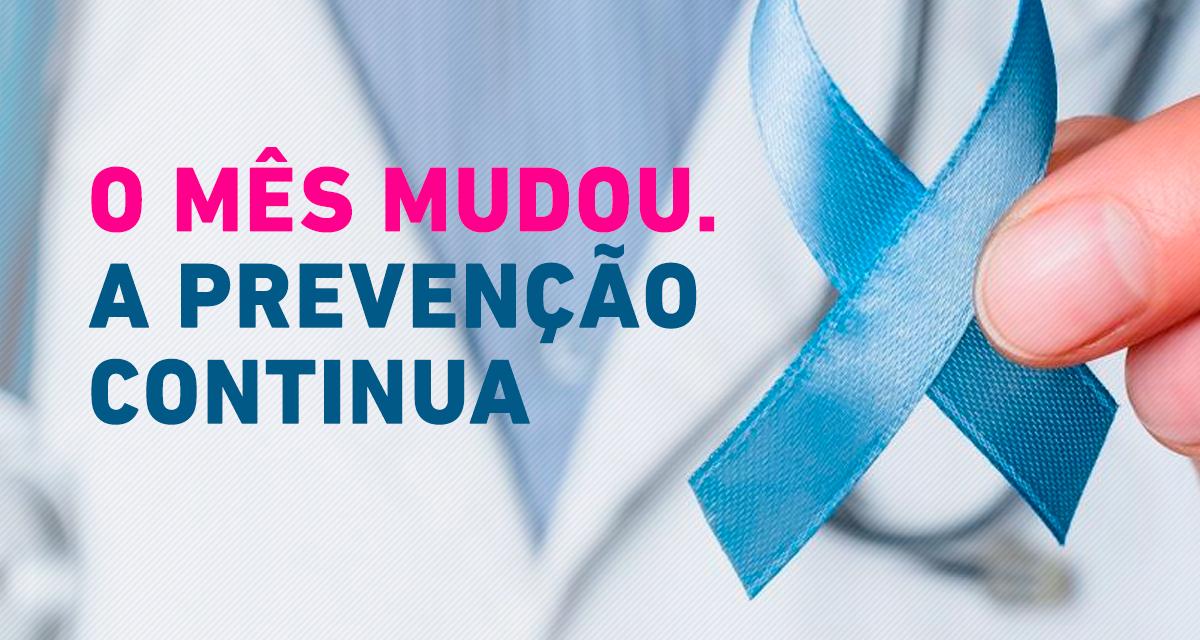 Novembro Azul: mês mundial de combate ao câncer de próstata