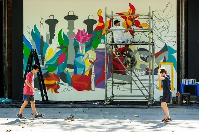 Arte urbana contra a pichação