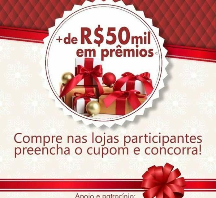 """Empresários da cidade unem forças e promovem mais uma Campanha de Natal """"NATAL FELIZ É AQUI"""""""