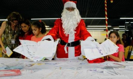 De volta, campanha Papai Noel dos Correios atenderá crianças carentes