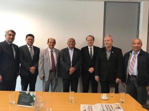 Fecomércio visita deputados distritais e pede aprovação da Luos em benefício da economia brasiliense