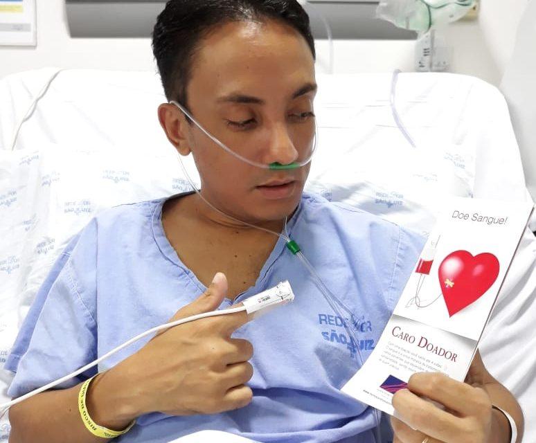 Urgente: Blogueiro de Brasília precisa de doações de sangue tipo O+