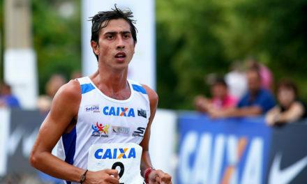 O atleta Caio Bonfim corre o risco de ficar sem o patrocínio da CAIXA