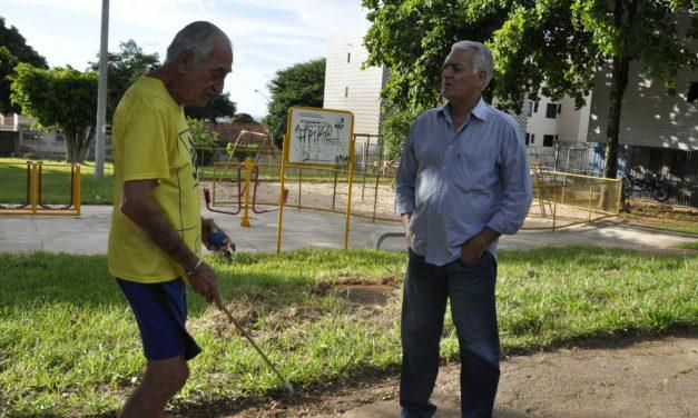 Novo Administrador de Sobradinho, Eufrásio Pereira, faz vistorias em Praças Públicas e nos Pontos de Encontro Comunitário