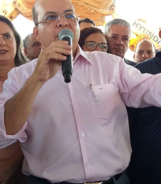 PERGUNTANDO DIRETAMENTE AO GOV. IBANEIS ROCHA SOBRE A CIDADE URBITÁ