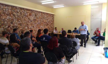 Presidente da Agefis e administradores de Sobradinho 1 e 2 recebem grupo de comerciantes de Sobradinho para tira-dúvidas