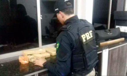 Passageiro é preso em Barreiras com drogas escondidas na bagagem