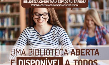 """CONVITE AOS SOBRADINHENSES –Lançamento do livro """"A Vida com Livros – Mapeamento afetivo das Bibliotecas do Saber no DF"""" de Carmen Ganzelevitch Gramacho"""