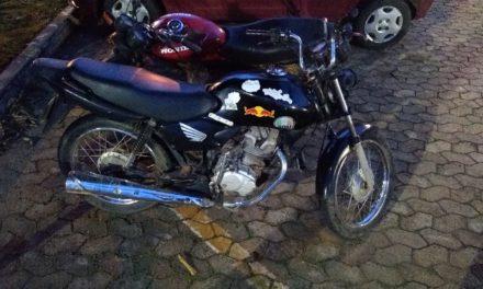 PMDF recupera duas motos e apreende foragido da justiça na DF 150