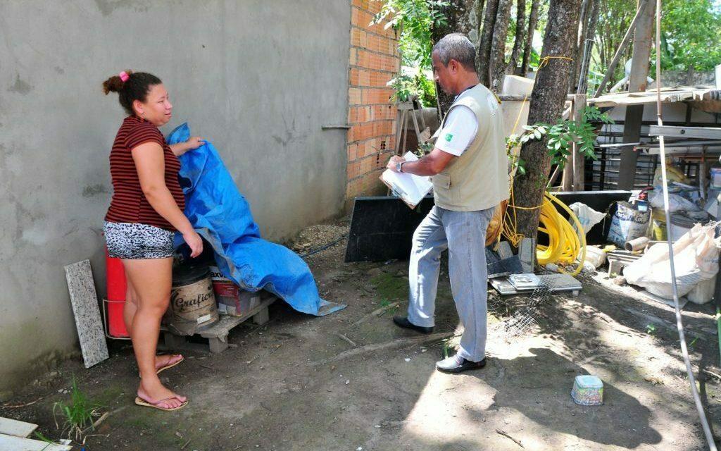 SOS DF Saúde atua no combate à dengue