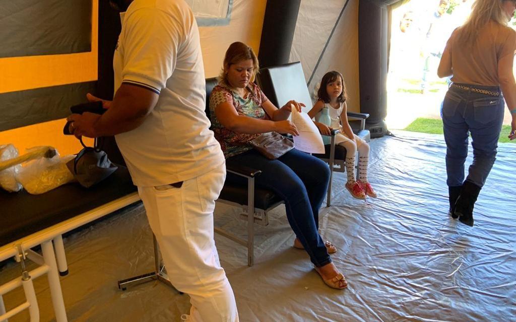 Sobradinho II tem centro de atendimento para casos de dengue