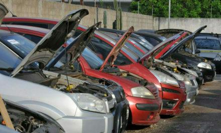 Detran-DF leiloa mais de 1.200 veículos