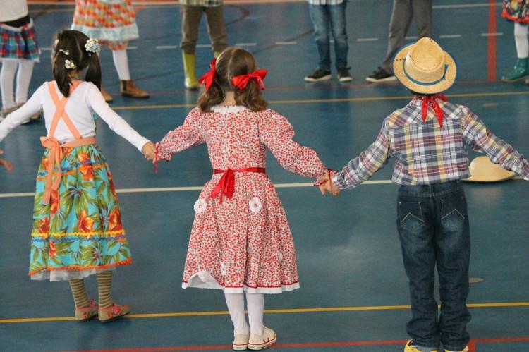 Festa Junina no Colégio Allan Kardec em Sobradinho