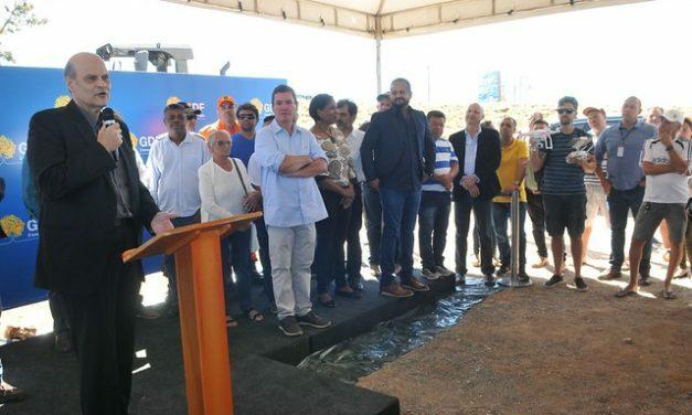 Moradores da região Norte da capital serão beneficiados com pavimentação da DF-456