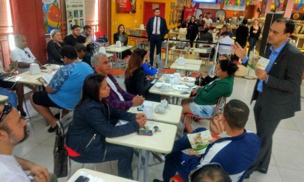 Sicredi reúne empresários e representantes de associações para apresentação dos seus produtos e serviços em Sobradinho