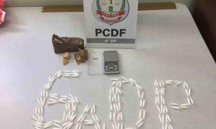 Cinco homens são presos no Distrito Federal acusados de tráfico de drogas