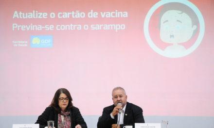 População do DF é chamada a atualizar cartão de vacina contra doenças
