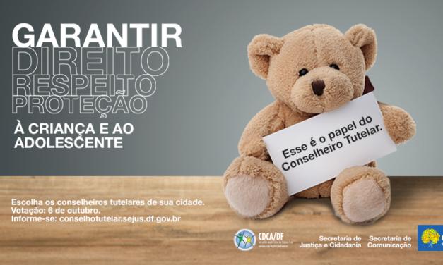Brasileiros elegem domingo representantes de conselhos tutelares