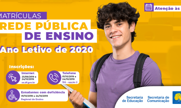 MATRÍCULAS ESCOLARES 2020