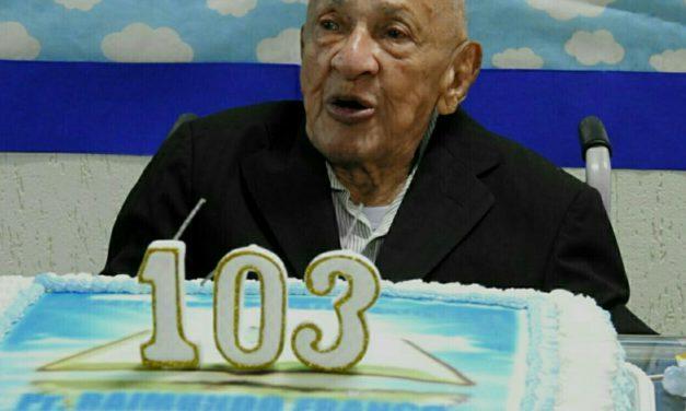 Pastor Franco -103 anos