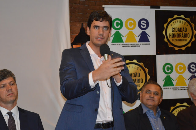 TÍTULO CIDADÃO HONORÁRIO DE SOBRADINHO