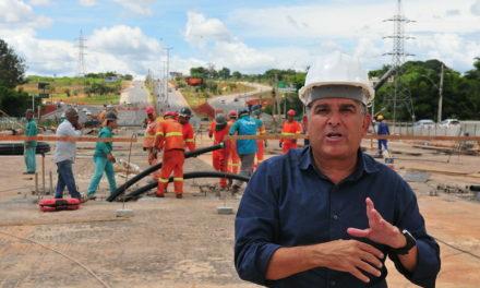 Obras de duplicação da ponte do Bragueto já estão 95% prontas