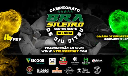 Sobradinho recebe campeonato Brasileiro de Jiu Jitsu