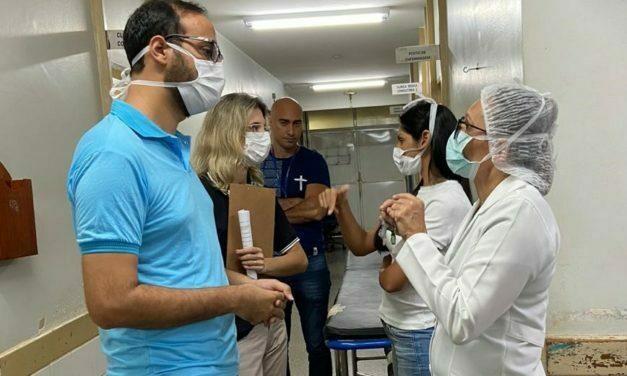Fiscalização apura denúncias no Hospital de Sobradinho