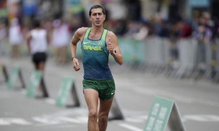 Caio Bonfim é campeão sul-americano de marcha atlética