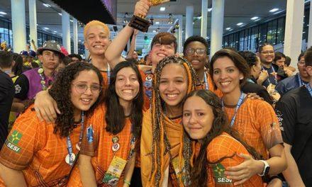 Estudantes de Sobradinho vencem Festival Sesi de Robótica, em São Paulo