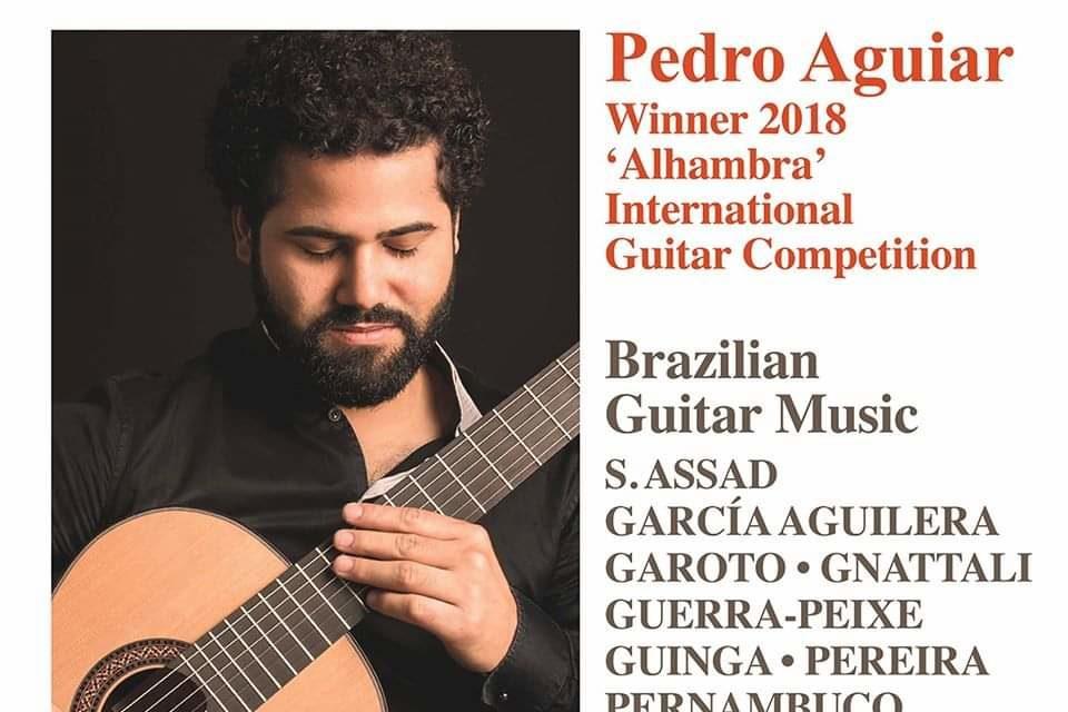 Lançamento mundial do CD do Pedro Aguiar, músico de Sobradinho