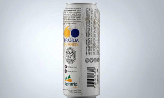 34 marcas se unem para lançar cerveja celebrativa dos 60 anos de Brasília