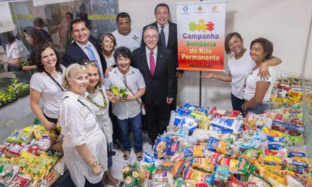 Fundação Mokiti Okada entrega álcool em gel e luvas ao Lar dos Velhinhos Bezerra de Menezes