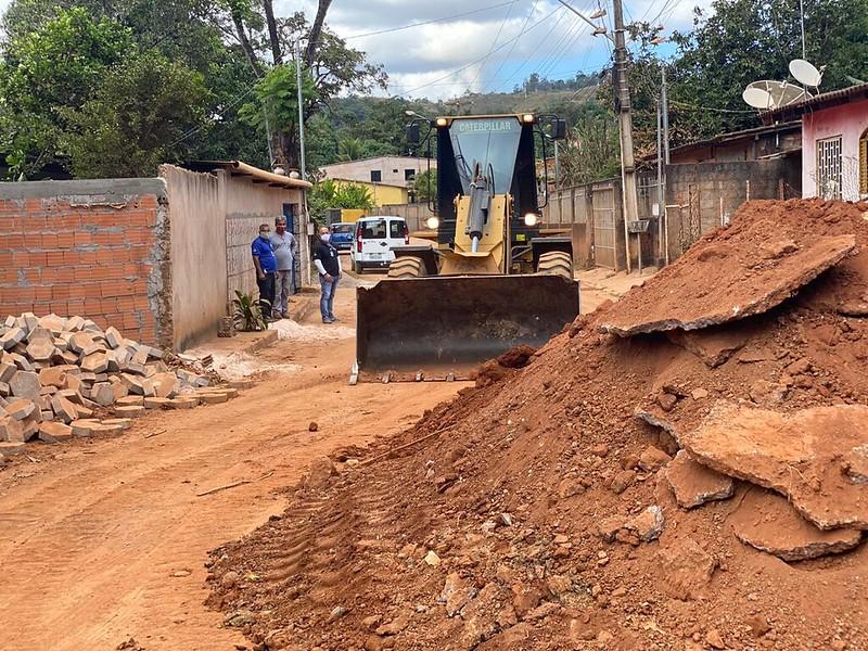 Rua do Mato terá pavimentação feita em bloquete