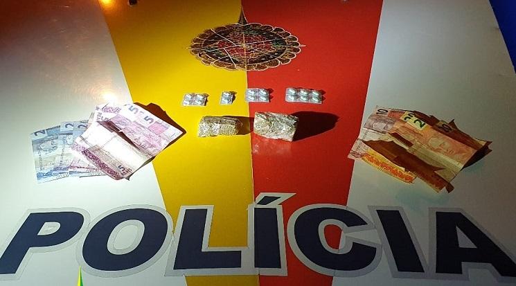 Jovem é apreendido vendendo drogas em Sobradinho II