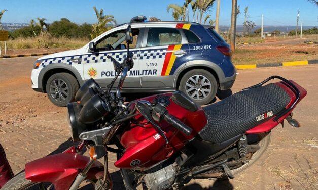 PMDF localiza moto roubada em Sobradinho