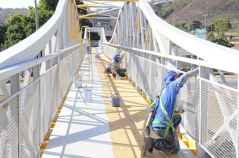 Quase R$ 5 milhões para obras em passarelas