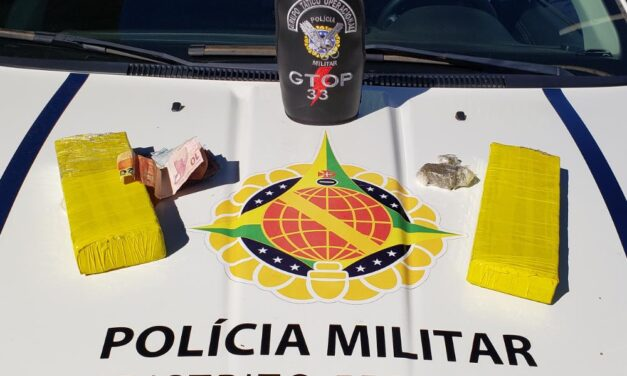 Homem é preso por tráfico de drogas em Sobradinho