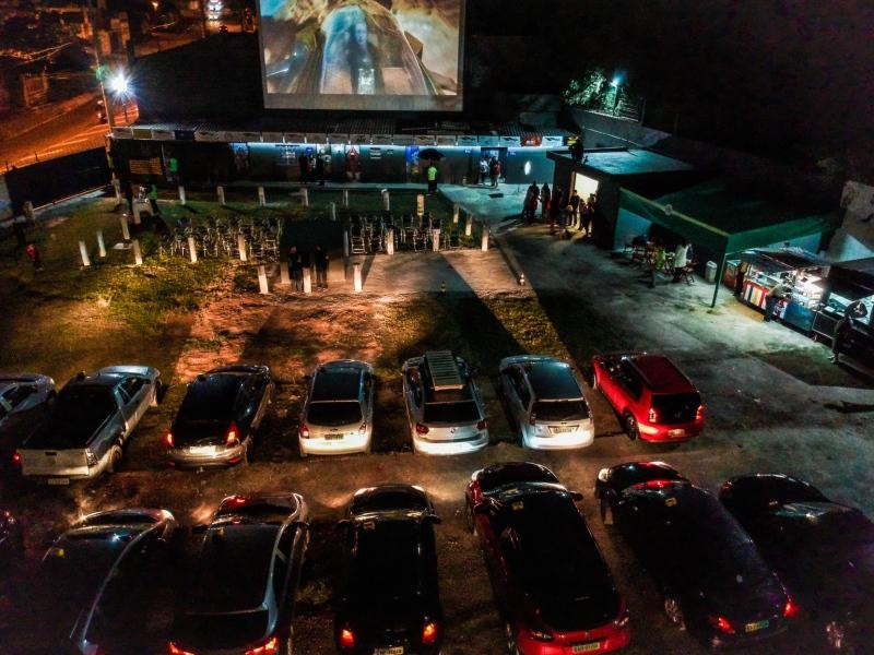 Circuito Cine Drive In nas Cidades leva diversão gratuita para crianças e adultos