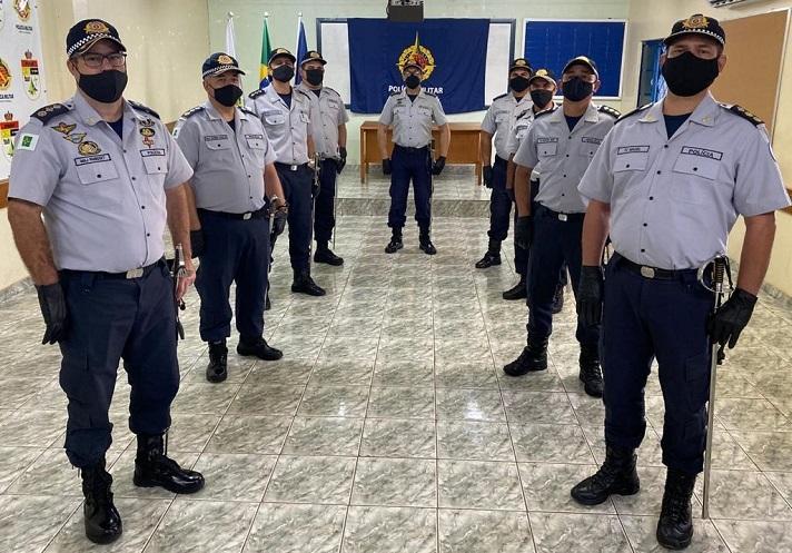 PMDF promove troca de comandos nas unidades do 5º CPR