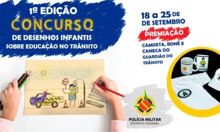 PMDF lança concurso de desenho infantil com o tema: Educação no Trânsito