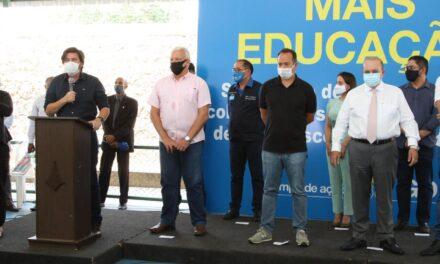 Inauguradas quadras cobertas em cinco escolas de Planaltina