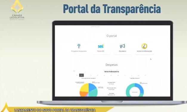 Novo Portal da Transparência garante acesso facilitado a dados da CLDF