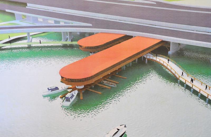 Ponte do Bragueto vai ganhar complexo gastronômico e de lazer