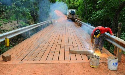 Fercal ganha terceira ponte reformada