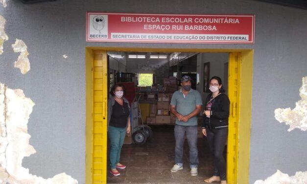 Senac-DF doa mil livros para Biblioteca Escolar Comunitária em Sobradinho